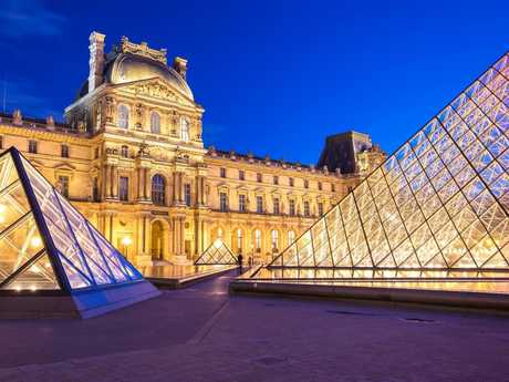 The Louvre is the world's biggest art museum and contains historic pieces including the Mona Lisa. Picture: Getty
