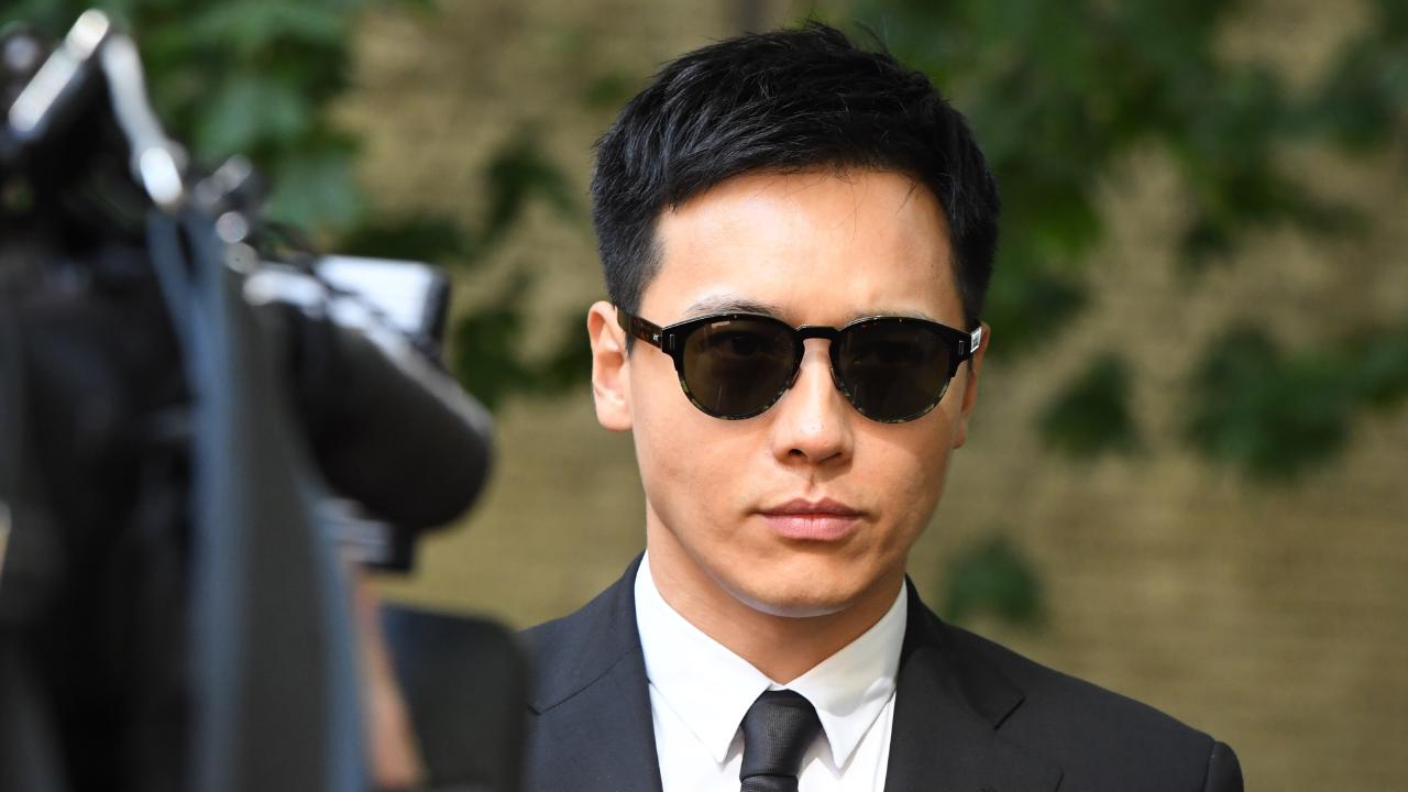 Chinese actor Yunxiang Gao arrives at Central Local Court. Picture: AAP