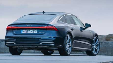 Audi has simplified the A7's list of options.