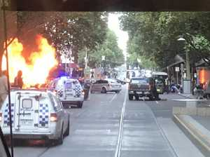 Killer dead after Melbourne CBD attack
