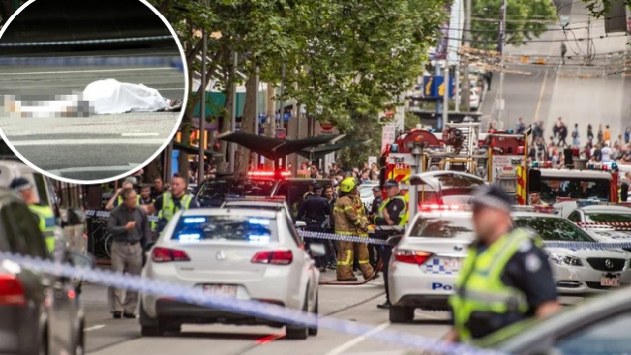 Melbourne CBD was flooded with emergency services workers after the terror attack.