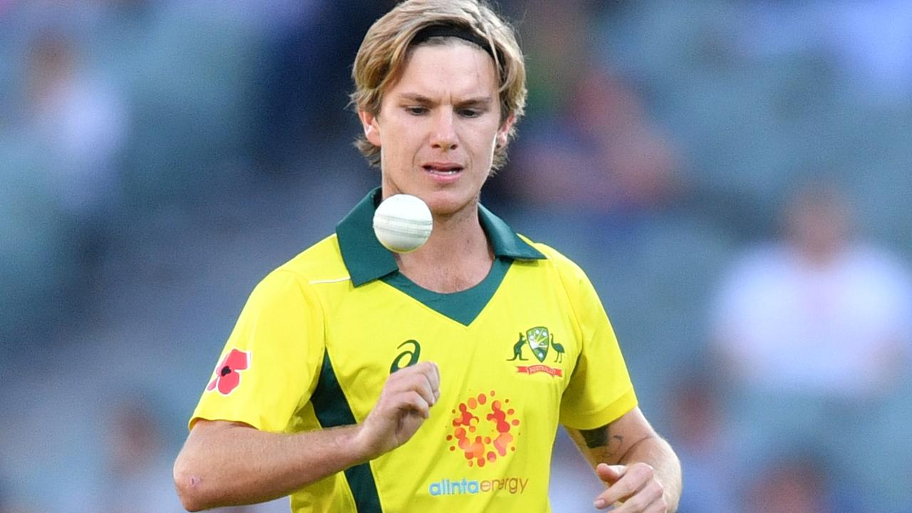 Adam Zampa is running out of time to press for World Cup selection. Picture: AAP