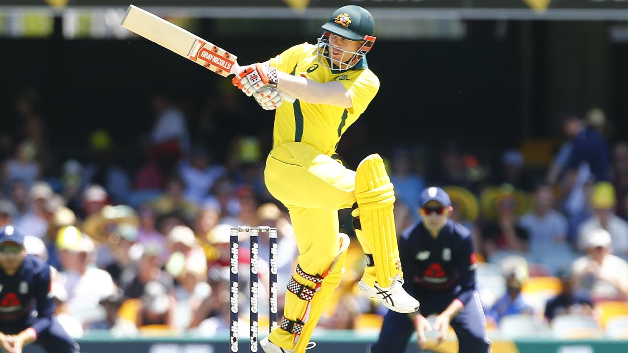 David Warner can bring a rhythm back to Australia's stuttering batting line-up. Picture: AFP