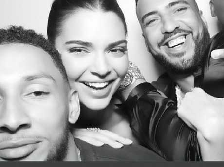 Kendall Jenner and Ben Simmons got up close and personal at Kylie Jenner's birthday. Picture: Instagram