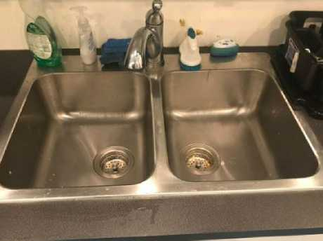 Timmy finally cleaned his sink.