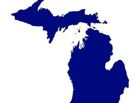 Here's the state of Michigan.