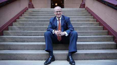 DAILY TELEGRAPH — NSW opposition leader Luke Foley pictured outside state parliament this afternoon. Pic, Sam Ruttyn