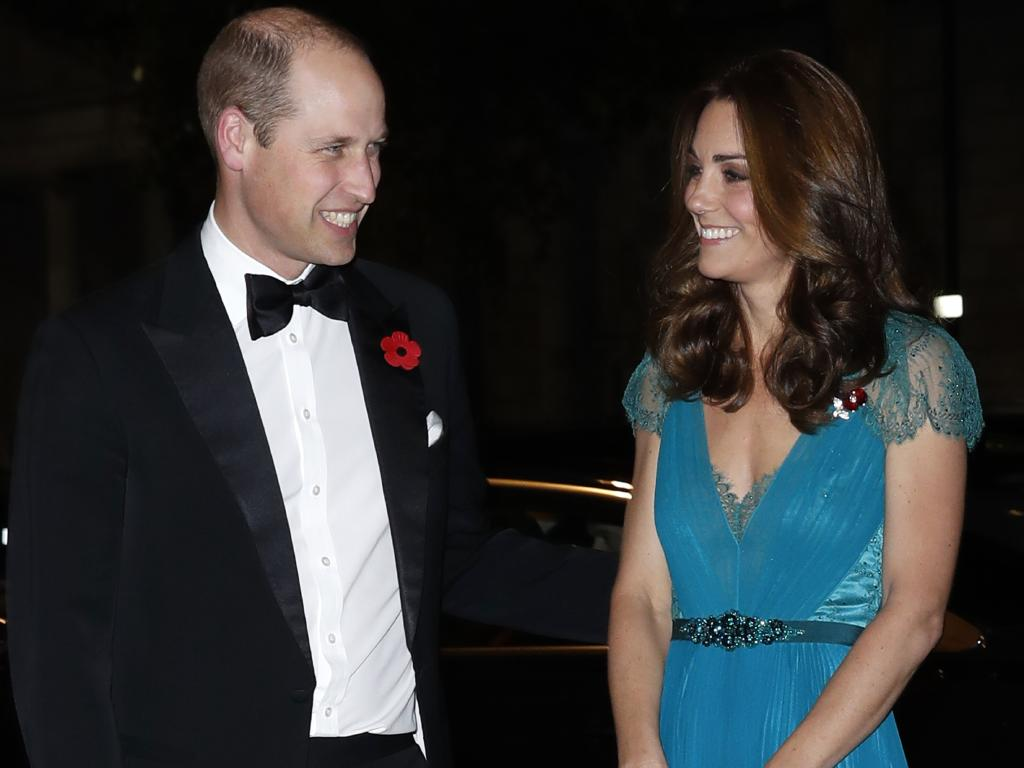 Prince William, Duke of Cambridge and Catherine, Duchess of Cambridge attend the Tusk Conservation Awards 2018. Picture: Chris Jackson/Getty Images for Tusk Trust