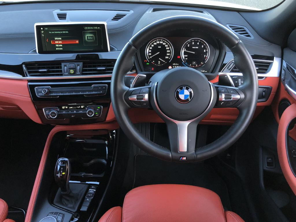 X2: Upmarket interior with good storage — but Apple CarPlay costs extra.