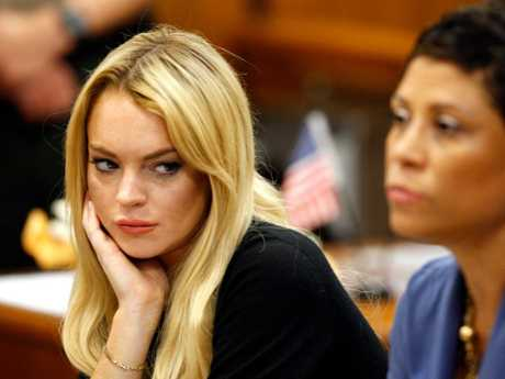 Lindsay has landed herself in court after getting DUI's many times. Picture: Supplied