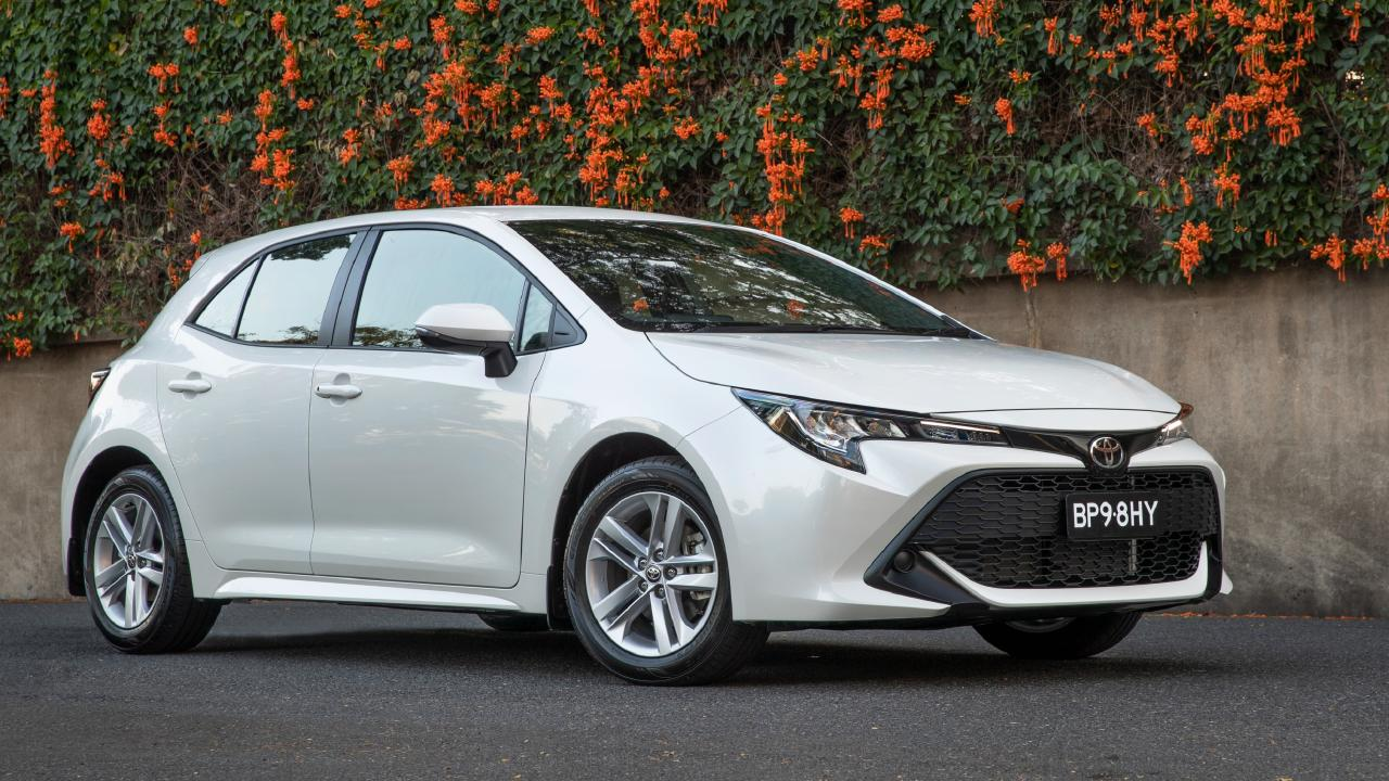 The new Corolla has a tiny boot, but it still holds full-size spare tyre.