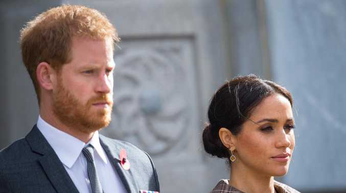 Harry and Meghan. Picture: Getty