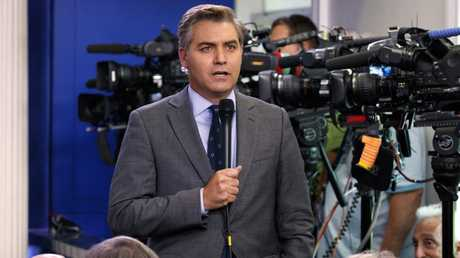 Jim Acosta has had his press pass revoked. Picture: Evan Vucci/AP