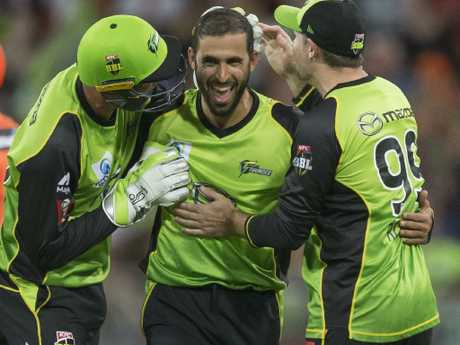 Fawad Ahmed in the Big Bash last summer.