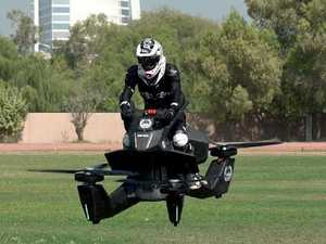 Check this out ... hoverbikes join Dubai's police force