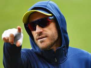 Du Plessis ready to finish off Aussies
