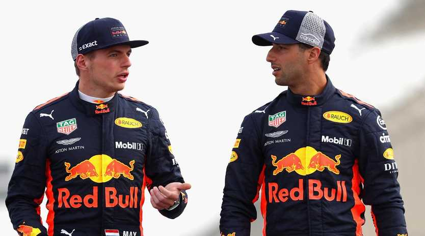 Daniel Ricciardo and Max Verstappen haven't always enjoyed the friendliest relationship.