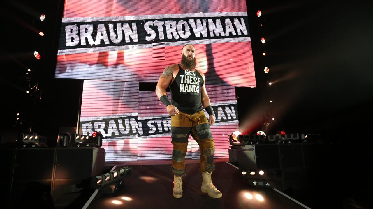WWE Superstar Braun Strowman. Picture: WWE
