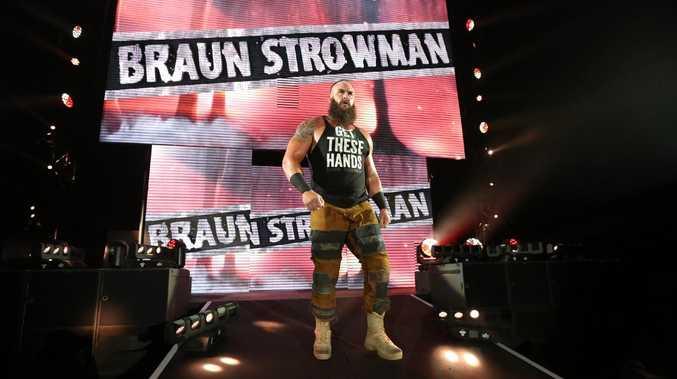 WWE Superstar Braun Strowman. Picture: WWE