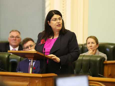 Grace Grace said the two southern states, with Liberal Governments, put party politics ahead of students by failing to secure a similar funding boost for public schools. Picture: Liam Kidston