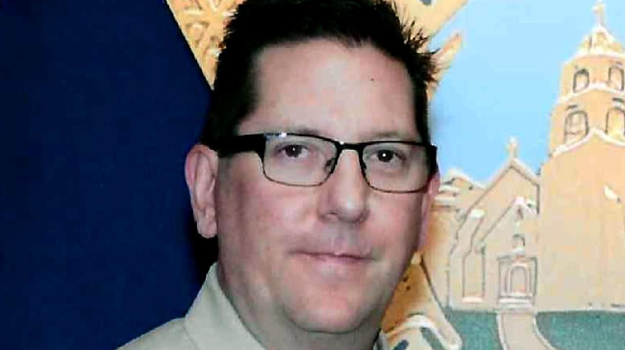 Sgt Ron Helus was killed on Wednesday in a deadly shooting at a Californian country music bar. Picture: Ventura County Sheriff's Department via AP