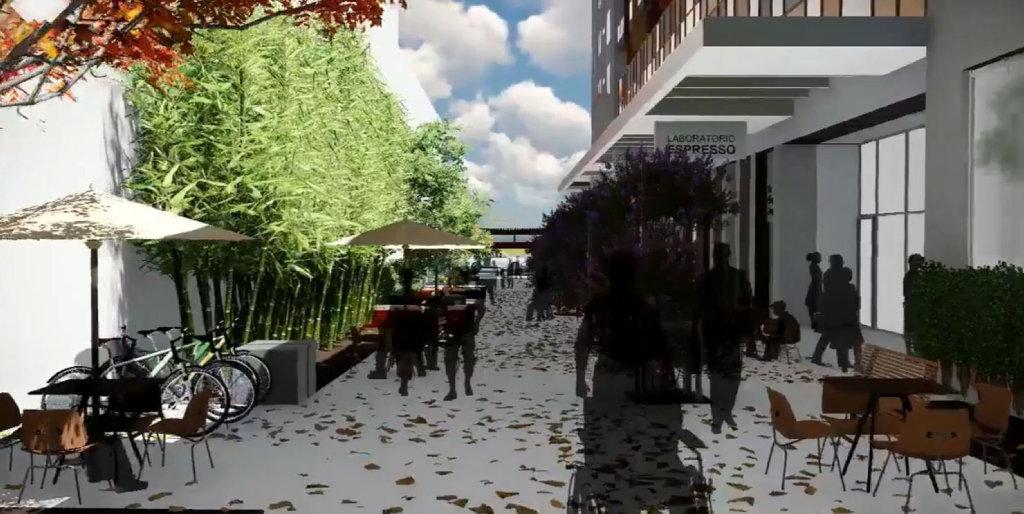 New design of The Gladstone Hotel.