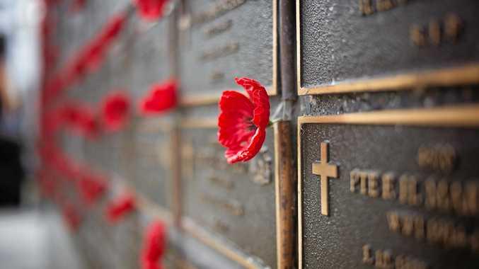 Remembrance day in Coffs, November 11, 2016