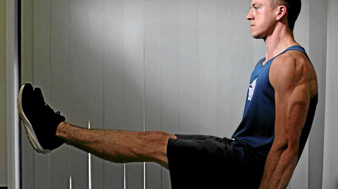 Robbie Preston placed second in Brisbane in the Australian leg of the World Street Workout Calisthenics Federation.