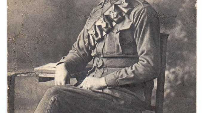 LOCAL HERO: George Drury joined Australian Imperial Force as a was deployed to the Western Front.