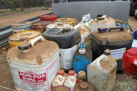 The drumMUSTER and ChemClear programs collect empty containers and safely dispose of unwanted, obsolete and inherited agvet chemicals.