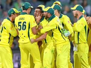Hazlewood says win relieves pressure on Australia