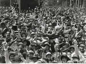 Warwick Daily News extract from 1918 reveals armistice joy