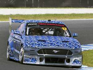 McLaughlin in awe of new Mustang Supercar