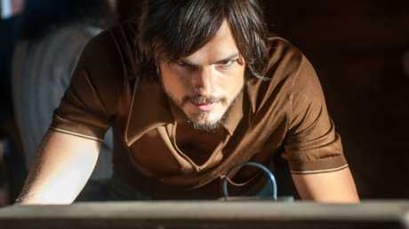 "Ashton Kutcher in ""Jobs."" (Open Road Films). Picture: Supplied"