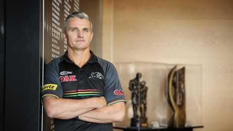 Cleary says he has 'unfinished business' in Penrith. Picture: Sam Ruttyn