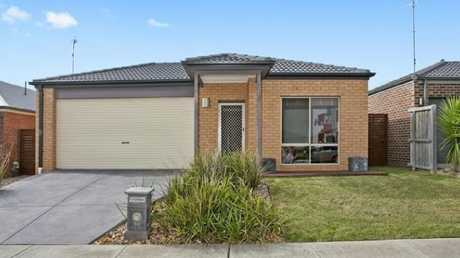 The Lordans bought this house in Leopold, Geelong for $439,000 in July 2018 — but today, it is worth $518,000. Picture: Supplied