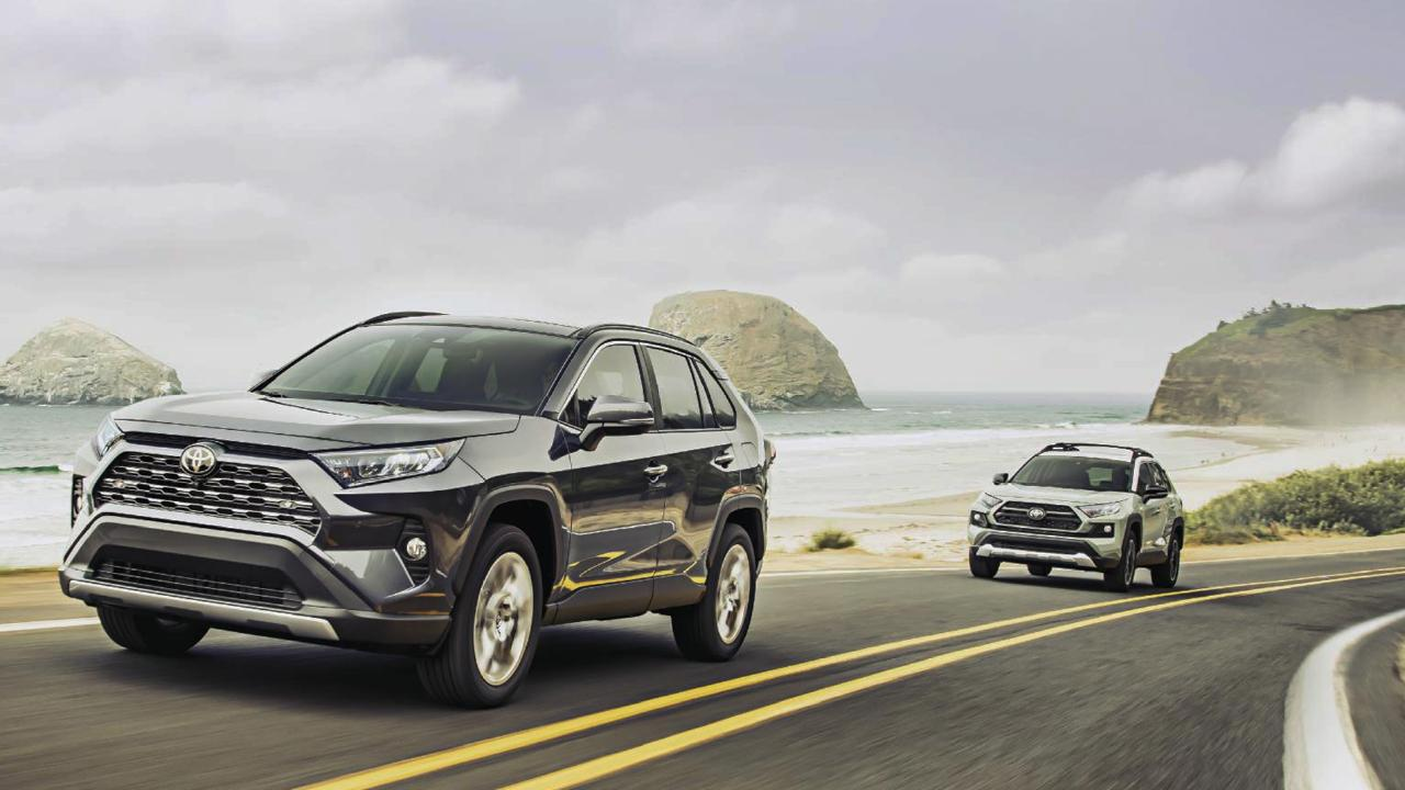 The new Toyota RAV4 arrives in Australia March, 2019.