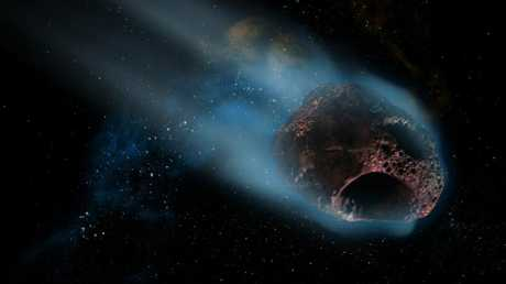 The three asteroids will fly past within a matter of hours.