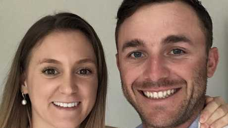Sydney couple Jessica and Daniel Lordan made a staggering $79,000 in just four months after the value of their Geelong investment property skyrocketed. Picture: Supplied