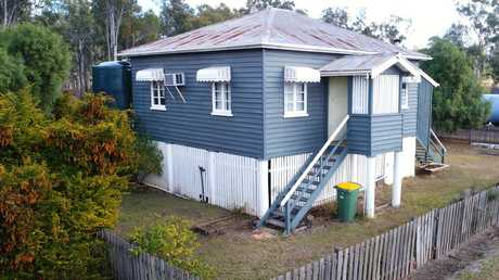 One of the original cottages at Allies Creek which will be retro-renovated. Picture: Lachie Millard