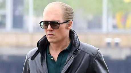 Johnny Depp played Whitey Bulger in Black Mass. Picture: FameFlynet