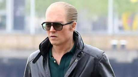 Johnny Depp played Whitey Bulger in Black Mass. Picture: FameFlynet