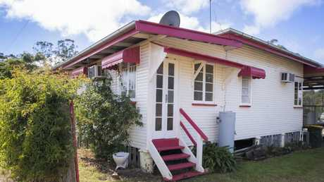 Pretty in pink ... the homes brought back nostalgic feelings for the new owners. Picture: Lachie Millard.