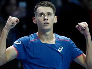 Aussie Alex De Minuar makes decider at Next Gen ATP Finals