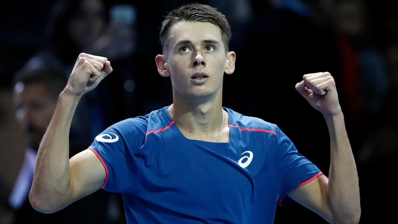 Alex de Minaur is going from strength to strength. Picture: Julian Finney/Getty Images