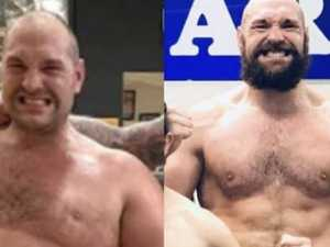 Freaky body transformation shocks boxing