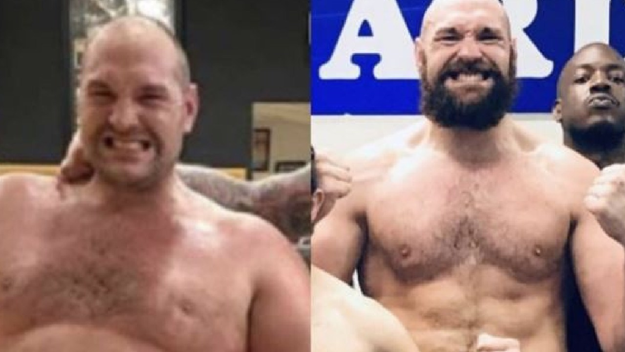 Tyson Fury is a new man.