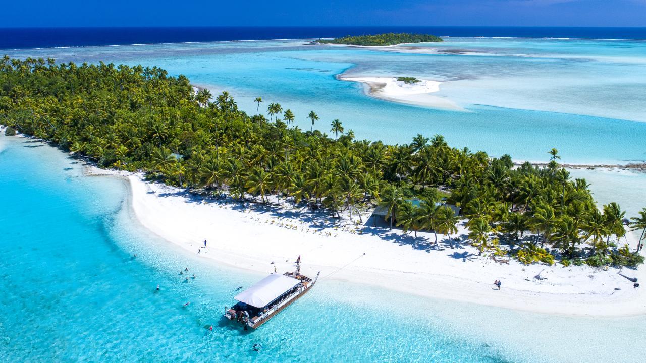 The Vaka Cruise on Aitutaki. Picture: Cook Islands Tourism