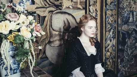 "Emma Stone in ""The Favourite."" (20th Century Fox). Picture: Supplied"