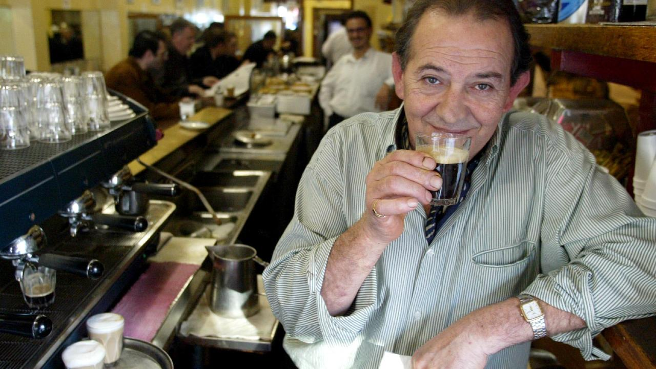 Melbourne is in mourning for Melbourne icon Sisto Malaspina. Picture: Kelly Barnes